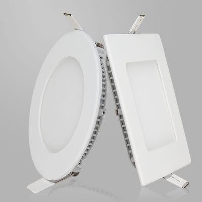 3-24W Square mounted Round ceiling Energy-saving LED Panel Light